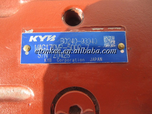 KYB MAG170VP-5000-7 Travel motor assy 619-01325010