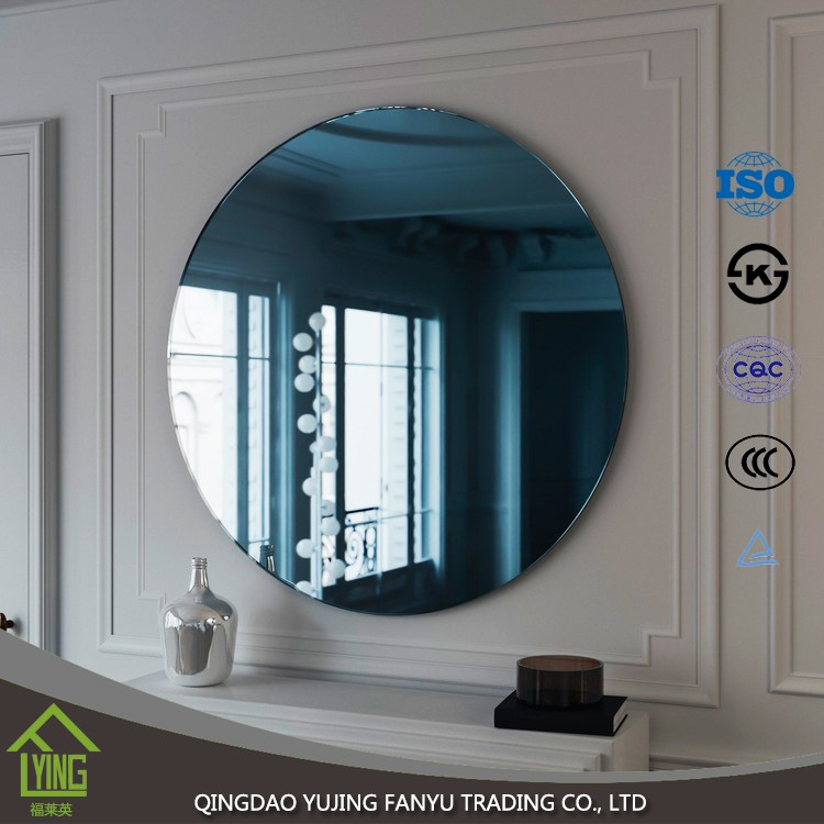 furniture mirror 1.8/3/4/5/6mm thickness Colored Mirror glass price for decoration