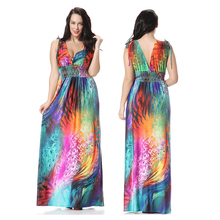 Premium polyester factory directly selling fashion women Casual Dresses