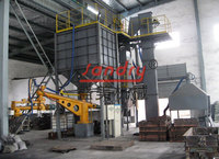 Phenolic resin coated sand reclamation and molding machine