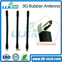 [2015 newest]3G Aerial 3dbi gain CRC9 Plug Right angle RA Connector Rubber Antenna for HUAWEI USB MODEM