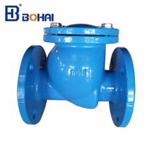 Rubber disc swing check valve