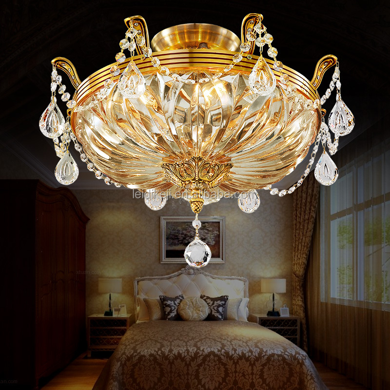 Hot selling glass ceiling lamp luxury ceiling light fixture