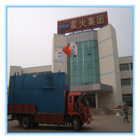 Industrial containerized underground waste water treatment plant manufactures used chemicals for water filter
