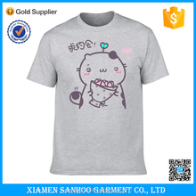 Wholesale In Stock Blank Cheap Unisex OEM Tshirt Softextile Printing No Label