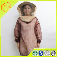 wholesale cheap beekeeper Suit ,100% pure cotton white bee suit ,durable bee keeping suit