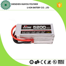 Hunger Promotion 35C Rechargeable 7.4V/14.8V /22.2V /11.1V 5200mAh Lipo Battery Pack