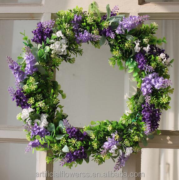 Wholesale Artificial Flower Spring Wreaths Buy Flower