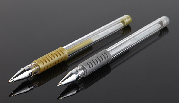 INTERWELL GP15 Quality Gel Ink Pen, Silver Gel Pen, Promotional Pen Gel