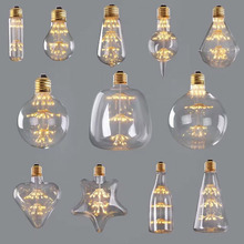 All over the sky star pendant retro edison led light bulb for decorate
