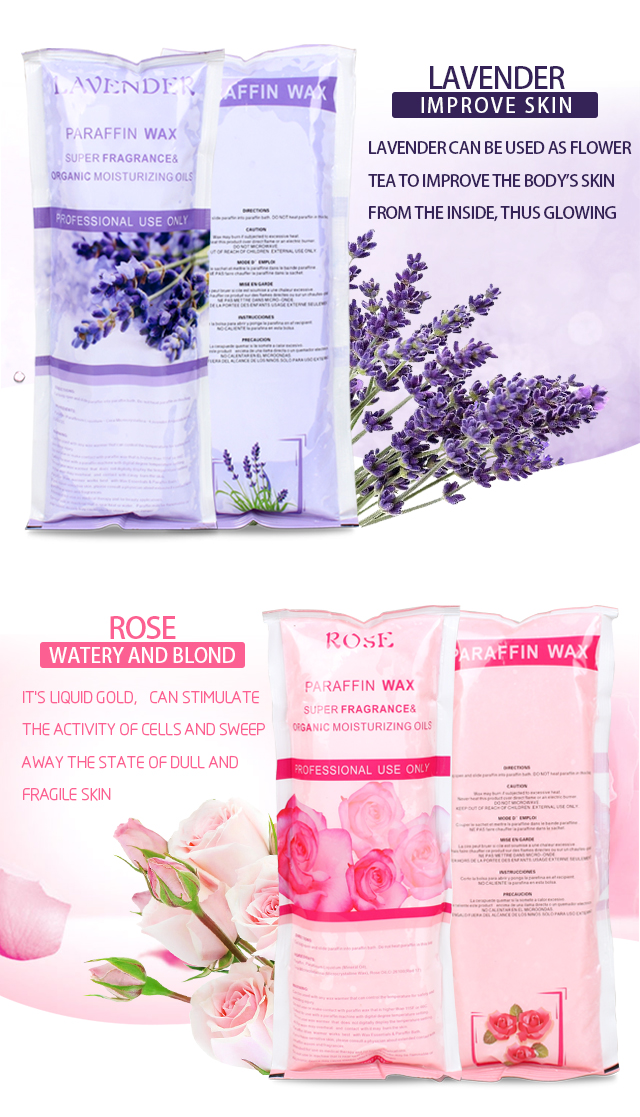 Rose/Peach/Lavender etl. Multiple Flavors Bulk Paraffin Beauty  bath Wax For Sale Fully Refined Paraffin  Wax For Hands And Feet