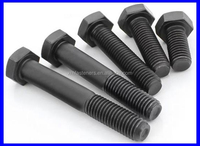 ASTM DIN933 Grade 8.8 Full Thread DIN931 Half Thread Carbon Steel Hex Bolt and Nut