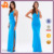 Good Quality Fashion Sexy Summer Backless Slit Night Bodycon Party Women Dress