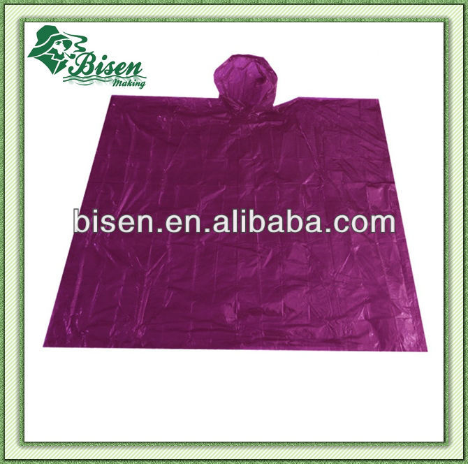 Promotional Disposable rain poncho/ ball raincoat