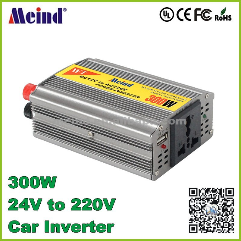 300w car inverter <strong>dc</strong> 24v to ac 220v <strong>dc</strong> to ac 300w Car Power Inverter