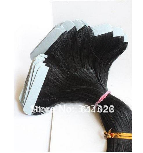 Top 7a quality 1bT4# loose wave brazilian human hair two tone tape hair extension