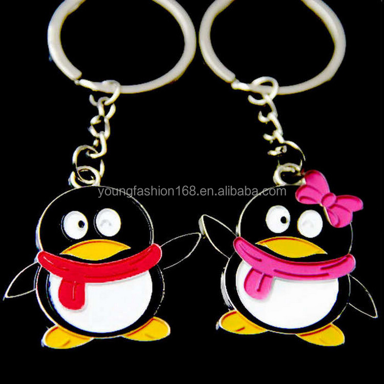 valentine's day gifts wholesale custom keychain QQ love keychain