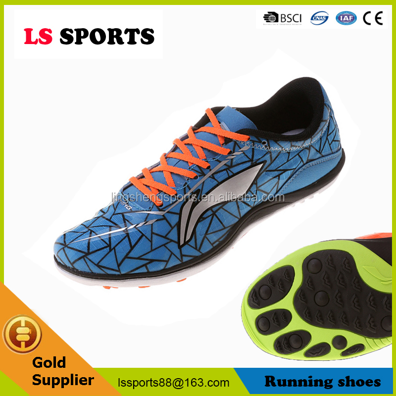 Wholesale Lining breathable running men stock lot jump sport shoes