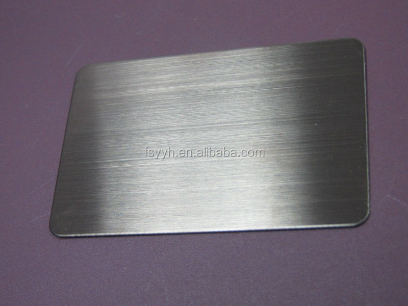 2015 product SS 201 202 hairline stainless steel sheet for decoration