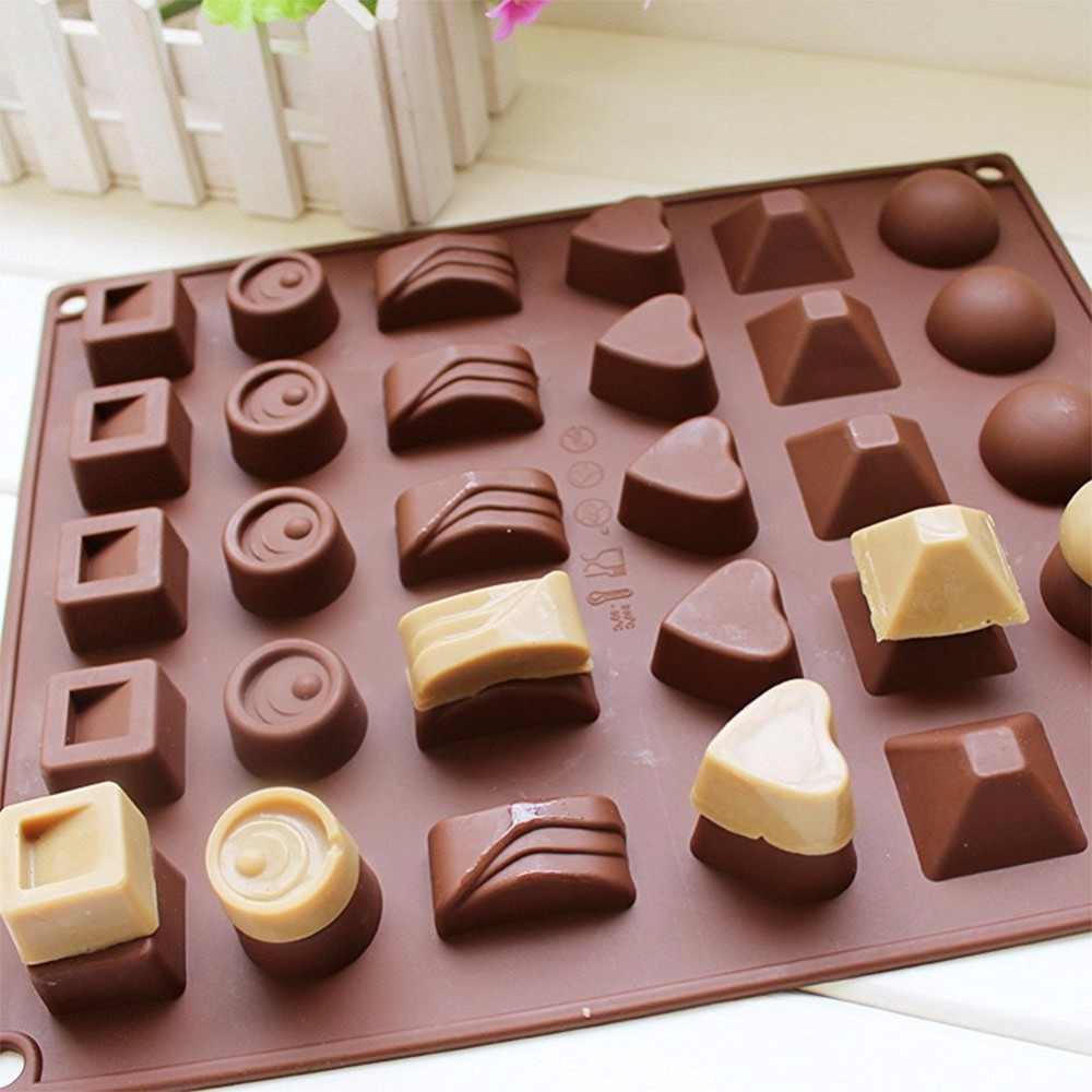 Mini Chocolate Making Machine Polycarbonate Chocolate Molds