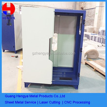 China OME mechanical parts fabrication services products made of colored sheet metal rack mount chassis