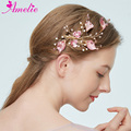 Sweet Cute Flower Bridal Hair Clip Pearl Floral Hairgrips Princess Barrettes Headpiece For Little White Girl Dresses