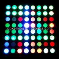 Dual color round 8x8 dot matrix led display common anode / cathode