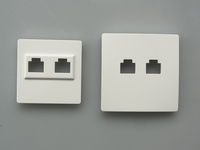 Shenzhen plastic parts manufacturer injection wall switch socket brand mould