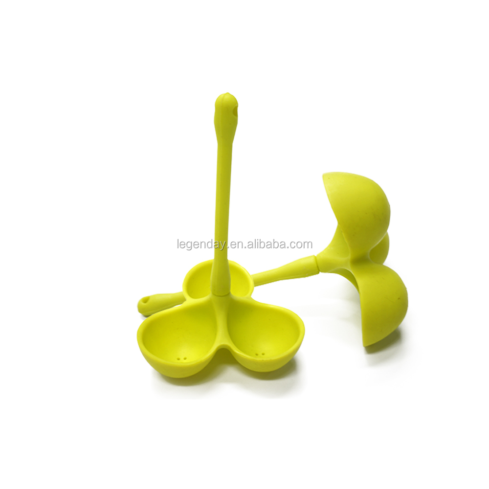 Custom FDA food grade silicone egg holder boiler