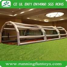 60' inflatable baseball batting cages, inflatable baseball sport game