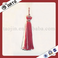 red decorative tassels accessories for home textile and car