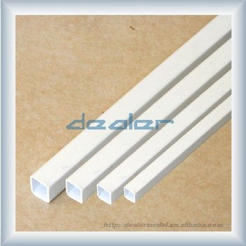 square tube,ABS tube,model material,small abs tube