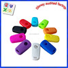 Soft silicone custom remote key cover for car key covers with high quality hot colors