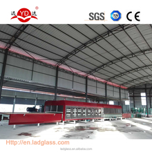 CE flat tempered glass production line