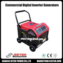 3,000-Watt Gasoline Powered Electric Start Portable Generator with Wheel Kit CE&EPA Approved
