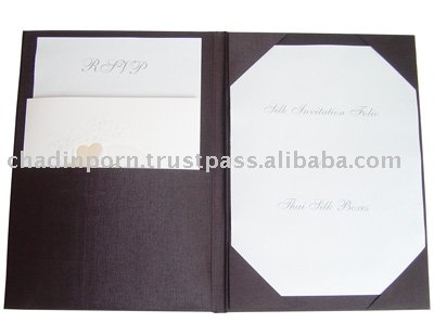 Silk Invitation Folios