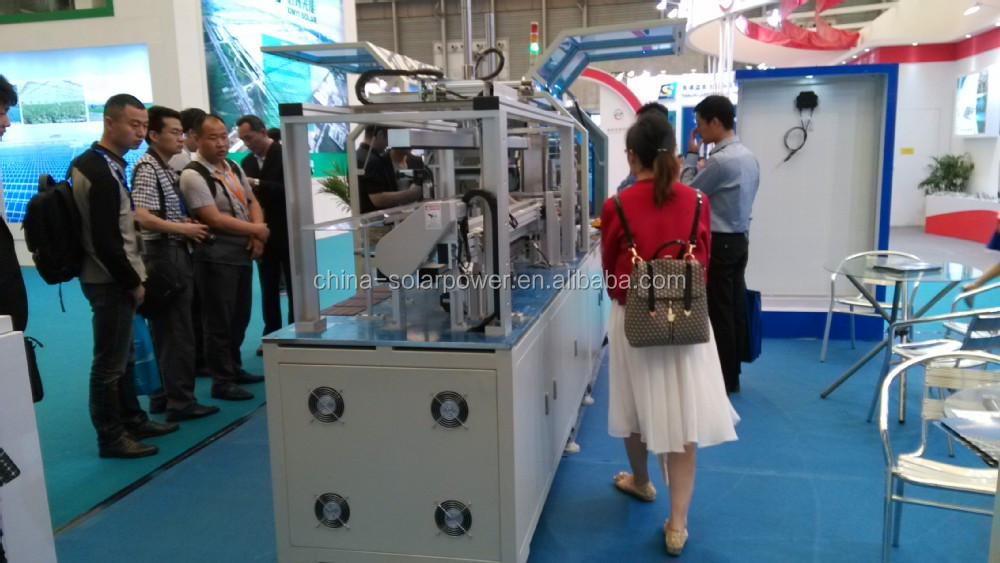 sunnyworld solar cell tabber stringer machine soldering full cells and cut cells