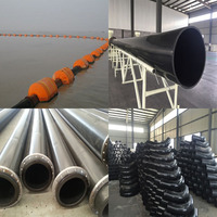 Floating UHMWPE Drainage Pipe for Sand Slurry Conveying