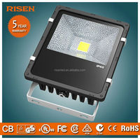 Risen China Supplier Led Flood Lights For Outdoor,auto dimming light with sensor