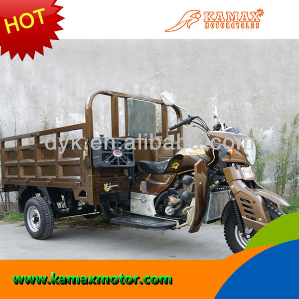 Big powerful Water Cooled Popular 400cc Three Wheel Tricycle