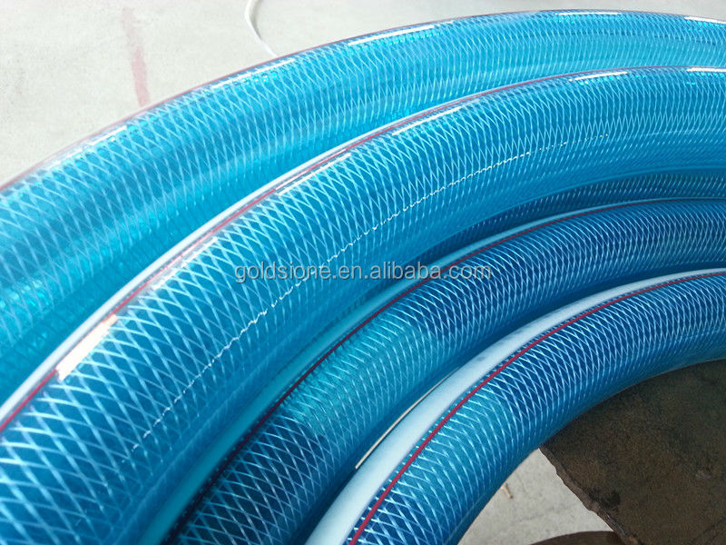 Pvc Fibre Braided Water Flow Hose Pipe