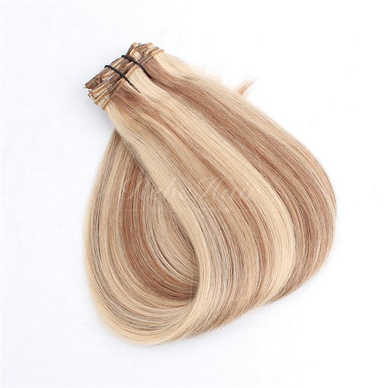 top quality clip in hair extensions volume wave wholesale hair distributors in china