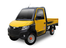 New Model E-Car For Cargo Use Battery Driving Electric 4 Wheeler Van Truck With Cabin