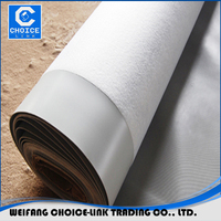20m/Roll colorful PVC waterproofing plastic membrane for roof