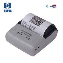 Termo printer 80mm wifi pocket printer HS-E30UW mini cell phone printer support esc/pos command with rechargeable battery