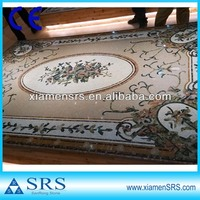 Square marble mosaic table patterns