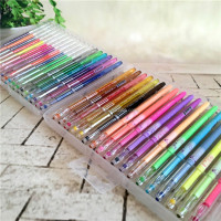 Amazon best selling 12/24/36/48/96 pack gel pen set with multi colors