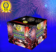 professional safe 1.4G consumer 1.2 inch 100S cake wholesale fireworks for sale
