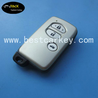 Topbest 3 button remote prodokey 315 mhz /433mhz for toyota land cruiser smart key