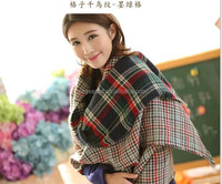 GDK0067 Popular New arrive High Quality New Fashion hot sale pashmina hat set plain check shawl wholesale cotton Scarf